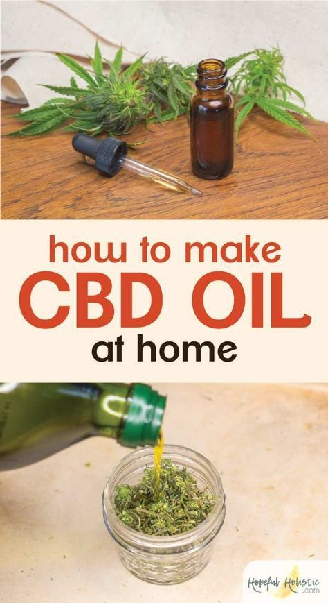 How to make CBD oil and CBD salve at home