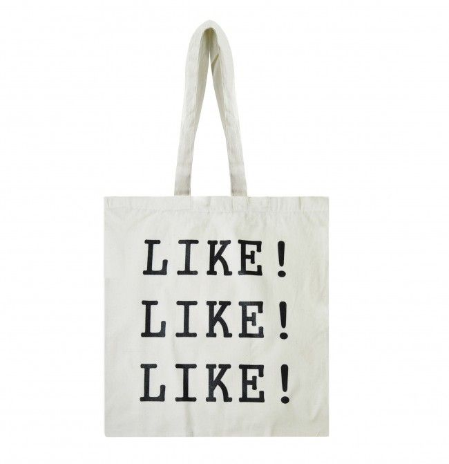 Like! katoenen tas Like!
