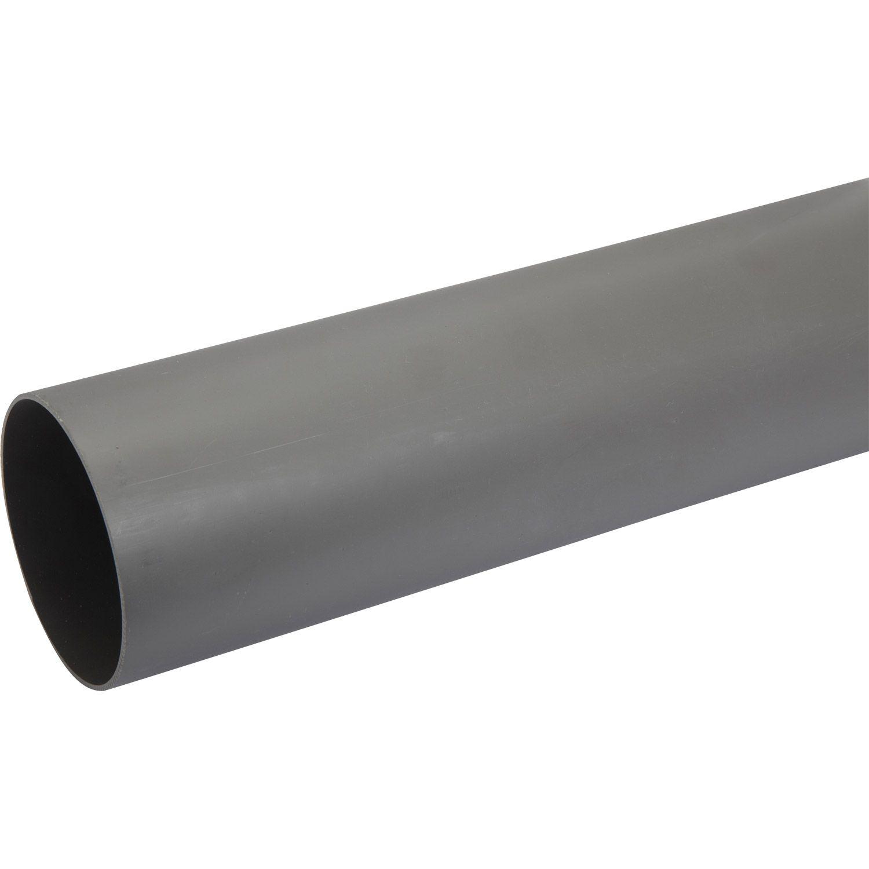 Tube Dévacuation Pvc Diam100 Mm L1 M Pvc Merlin Et