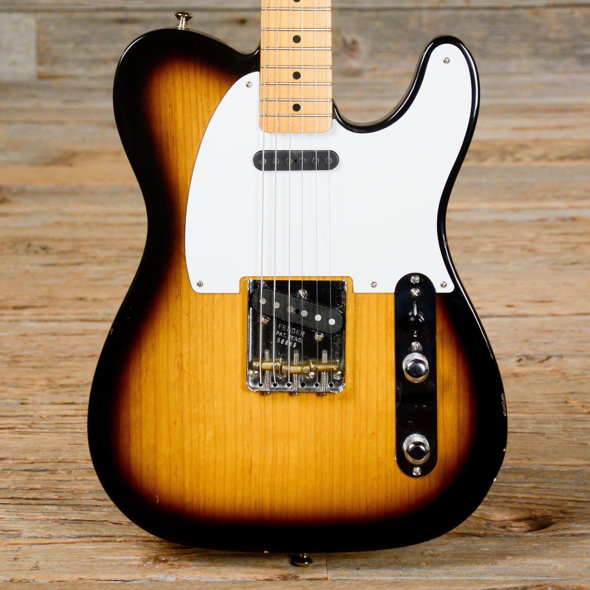 Fender American Vintage '52 Telecaster Sunburst w/Mods 2007