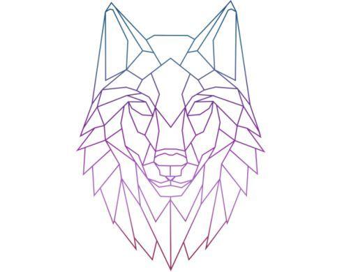 bildergebnis f r wolf silhouette tolle tattoos geometrische zeichnung zeichnungen und zeichnen. Black Bedroom Furniture Sets. Home Design Ideas