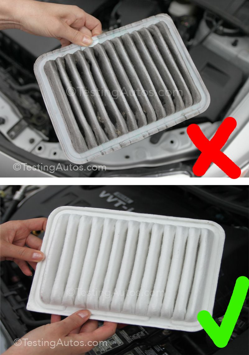 When to replace an air filter in a car? Car filter, Air