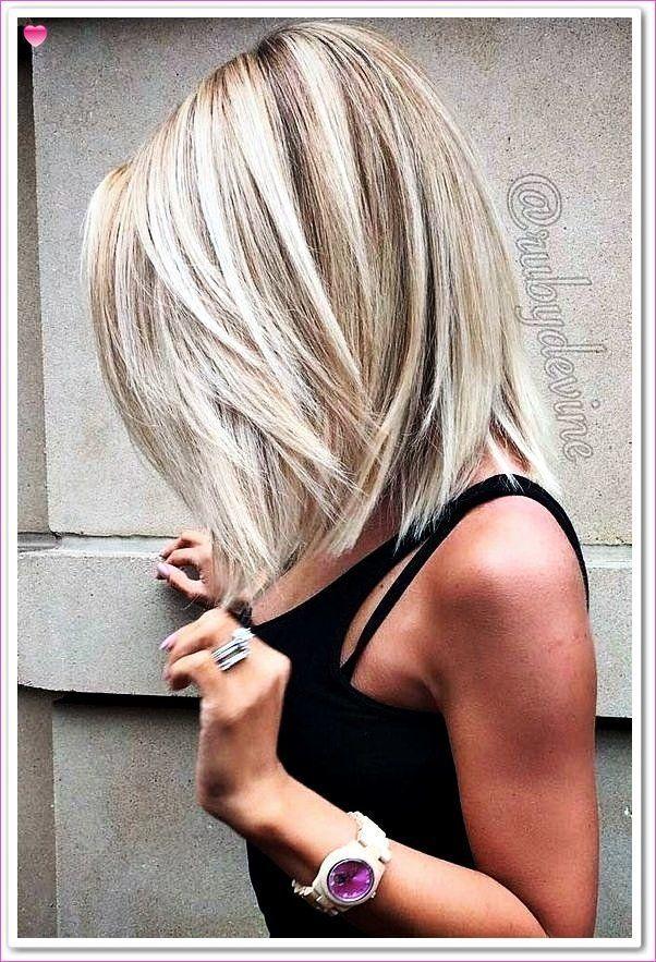 10 stilvolle Lob Frisur Ideen, schulterlange Frisur für Frauen - mein Blog#blog #frauen #frisur #für #ideen #lob #mein #schulterlange #stilvolle