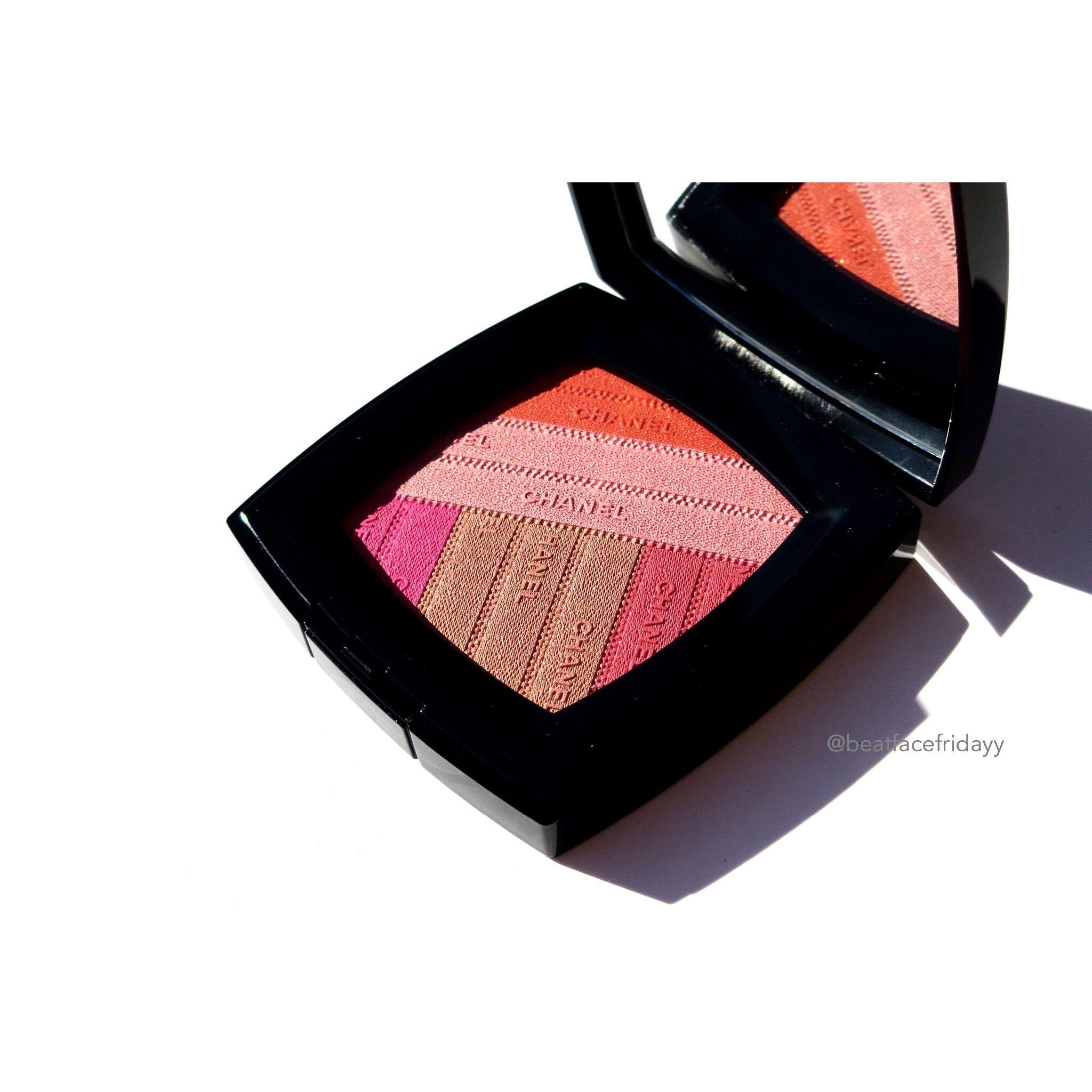 Chanel Sunkiss Ribbon Blush Spring 2016 Photos, Swatches – beatfacefridayy