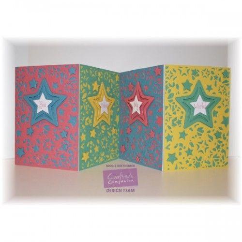 Shining Star | Diesire Create-A-Card | A6 Range | DS-CAD6-SSTA | CardCraft-UK