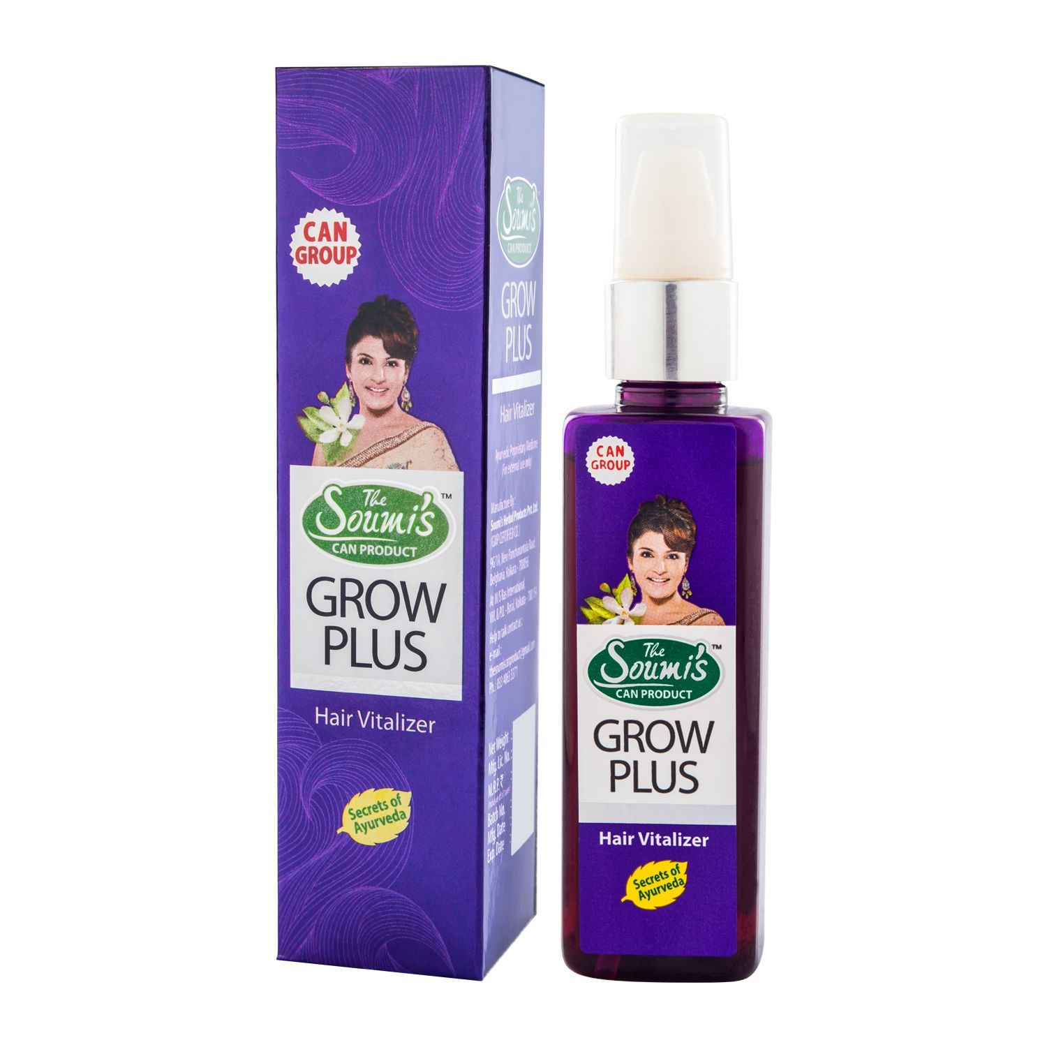 GROW PLUS Hair Vitalizer Prevents HAIR LOSS and helps in