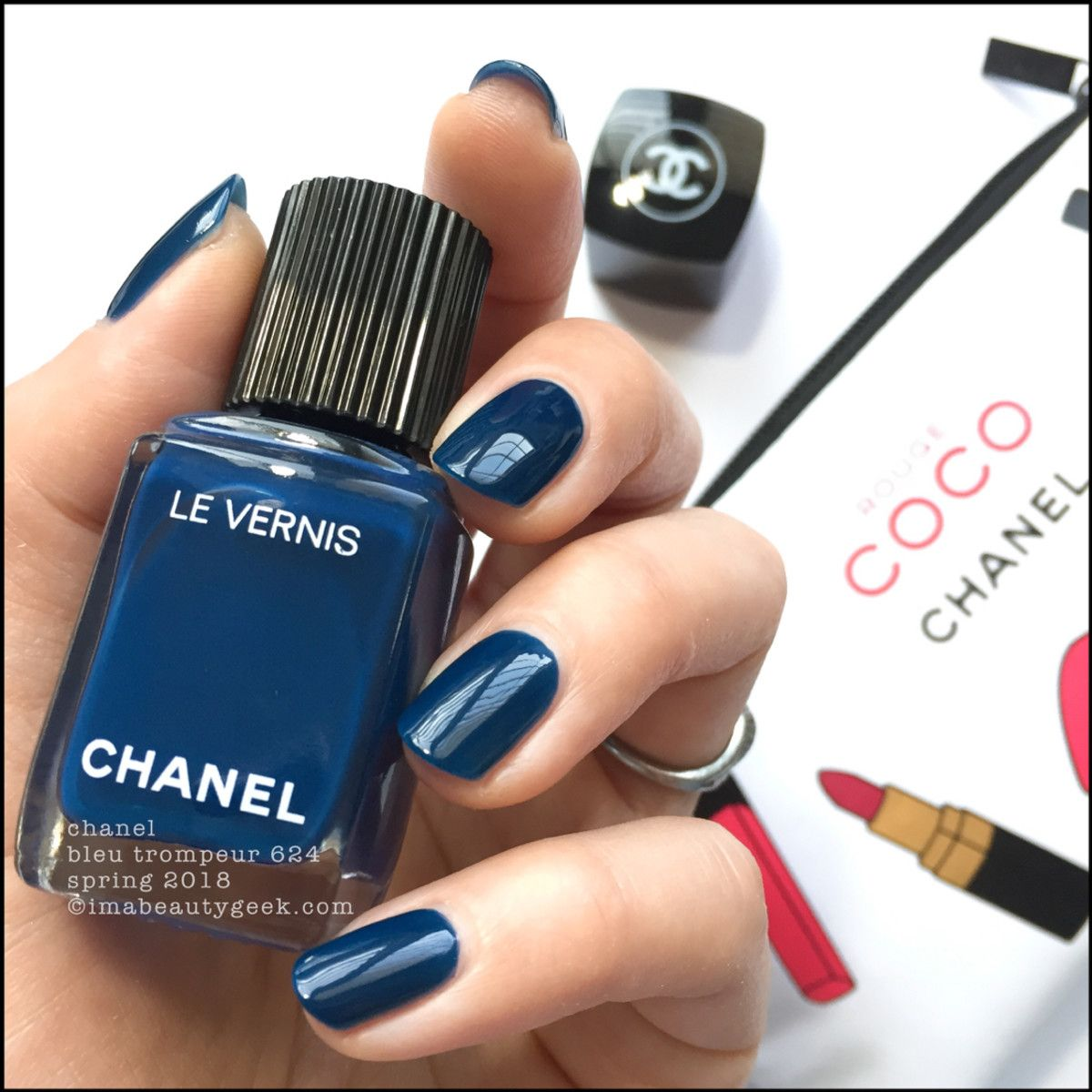 CHANEL LE VERNIS SPRING 2018 SHADES