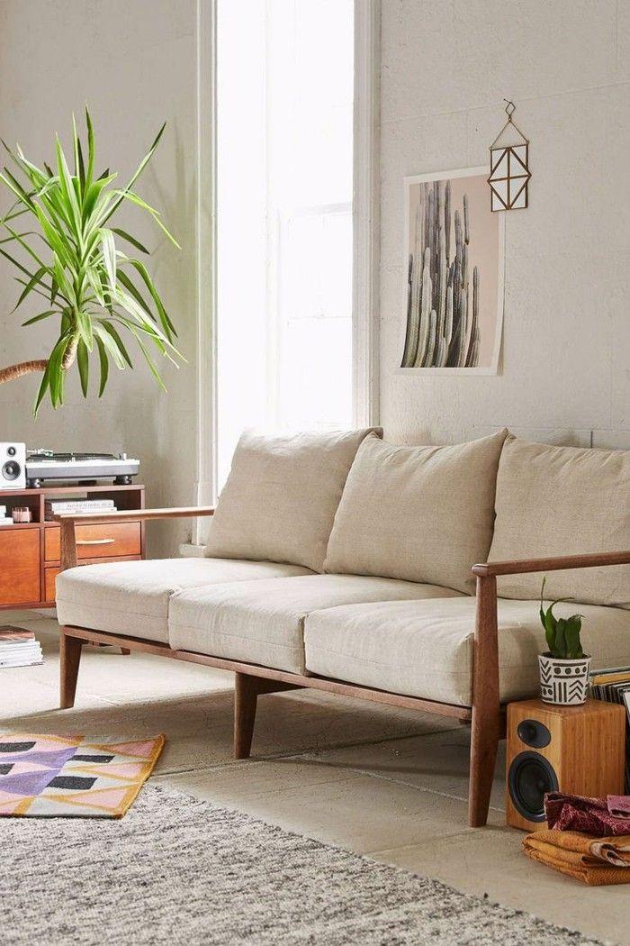 Den Sofa Stoff richtig auswählen - Ein paar Tipps und Tricks Pinterest - moderne wohnzimmer couch