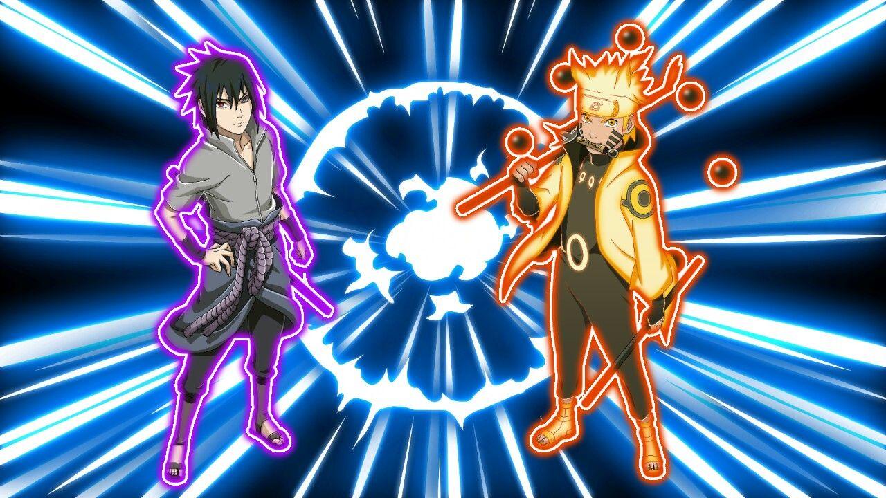 Sasuke e Naruto Nada pra fazer