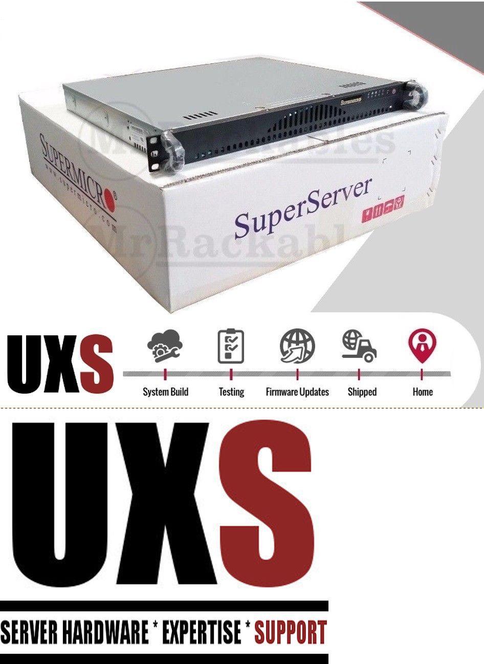 Servers Clients and Terminals 175700: Uxs Server 1U Firewall Open