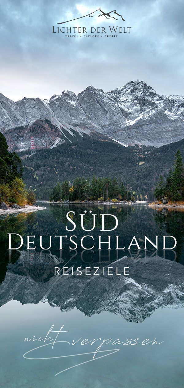 20 top Spots in Süddeutschland, die du unbedingt gehen haben musst  #reisen #reisendeutschland #deutschland #bayern #baden-württemberg