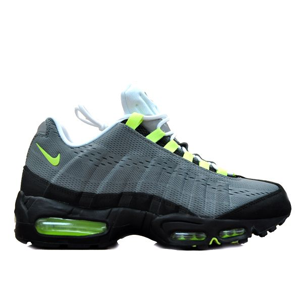 Nike Air Max 95 Engineered Mesh - Cool Grey & Volt