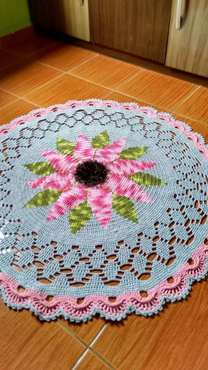 Pin von Joelle G auf Crochet Rug Assorted   Pinterest