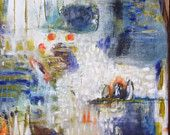 Take a Chance .... abstract original by Annie Lockhart  www.annielockhart.com