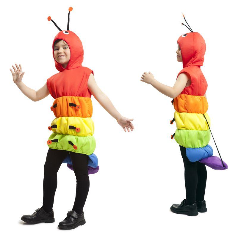 D guisement verre de terre enfant gusanito carnavales y for Disfraces de bichos