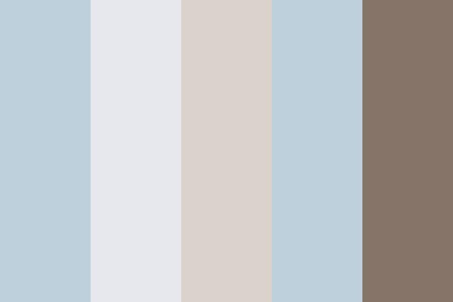 Studio Cool Color Palette.  #colorpalettes #colorschemes #design #colorcombos