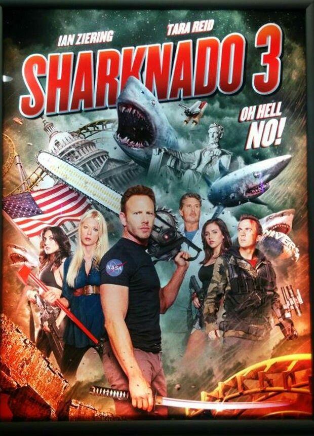 Sharknado 3 Sharknado Frankie Muniz Sharknado 4