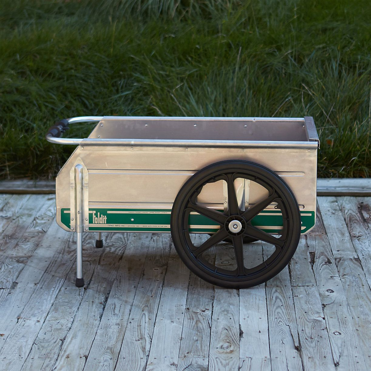 My Go To Cart This Folding Utility Cart Stands Up To Any Weather