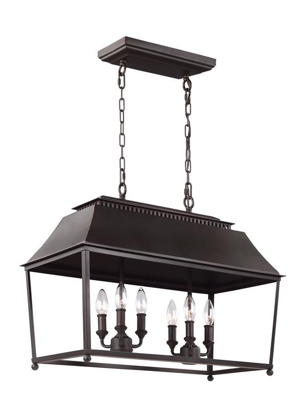 The Carriage Light Profile Of The Galloway Lighting Collection By Feiss  Features Open Frames, With