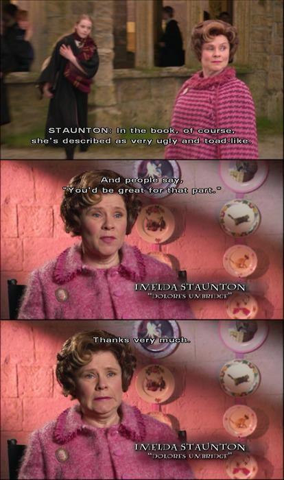 Dolores Umbridge Fan Art Fan Art Harry Potter Jokes Dolores Umbridge Harry Potter Funny