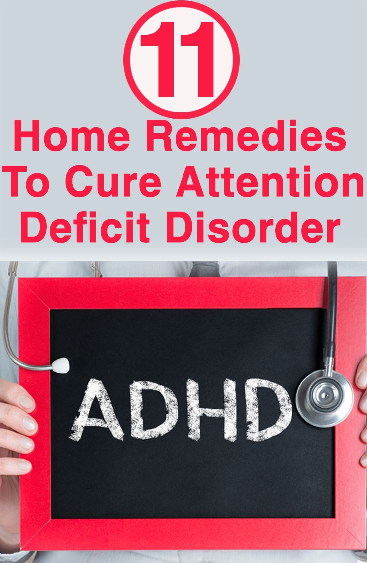 11 Effective Home Remedies To Cure Attention Deficit Disorder