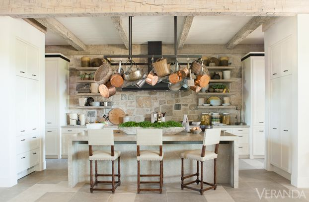 Feast Your Eyes On These 42 Stylish Kitchen Ideas | Veranda ... on cote de texas kitchens, candice olson kitchens, beautiful black kitchens, architectural digest kitchens, patio kitchens, coastal living kitchens, extremely tiny kitchens, this old house kitchens, fireplace kitchens, most beautiful kitchens, suzanne kasler kitchens, pinterest kitchens, stratosphere kitchens, 1890's kitchens, cape cod kitchens, nice looking kitchens, domino kitchens, cottage living kitchens, flip or flop kitchens,