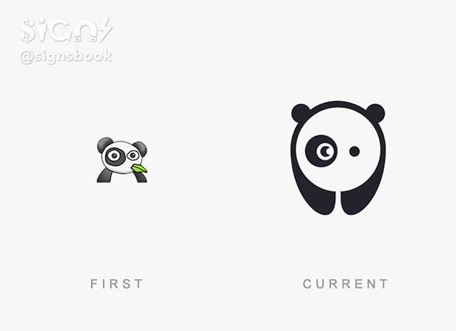 Famous Logos Then And Now Bored Panda Follow Signsbook Tag Your