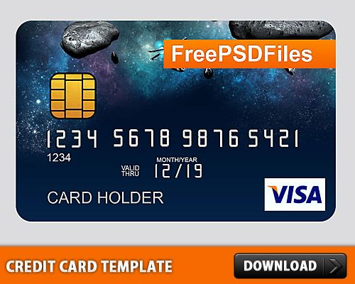 Nice Free PSD Credit Card Template Download Free PSD Credit Card - credit card template word