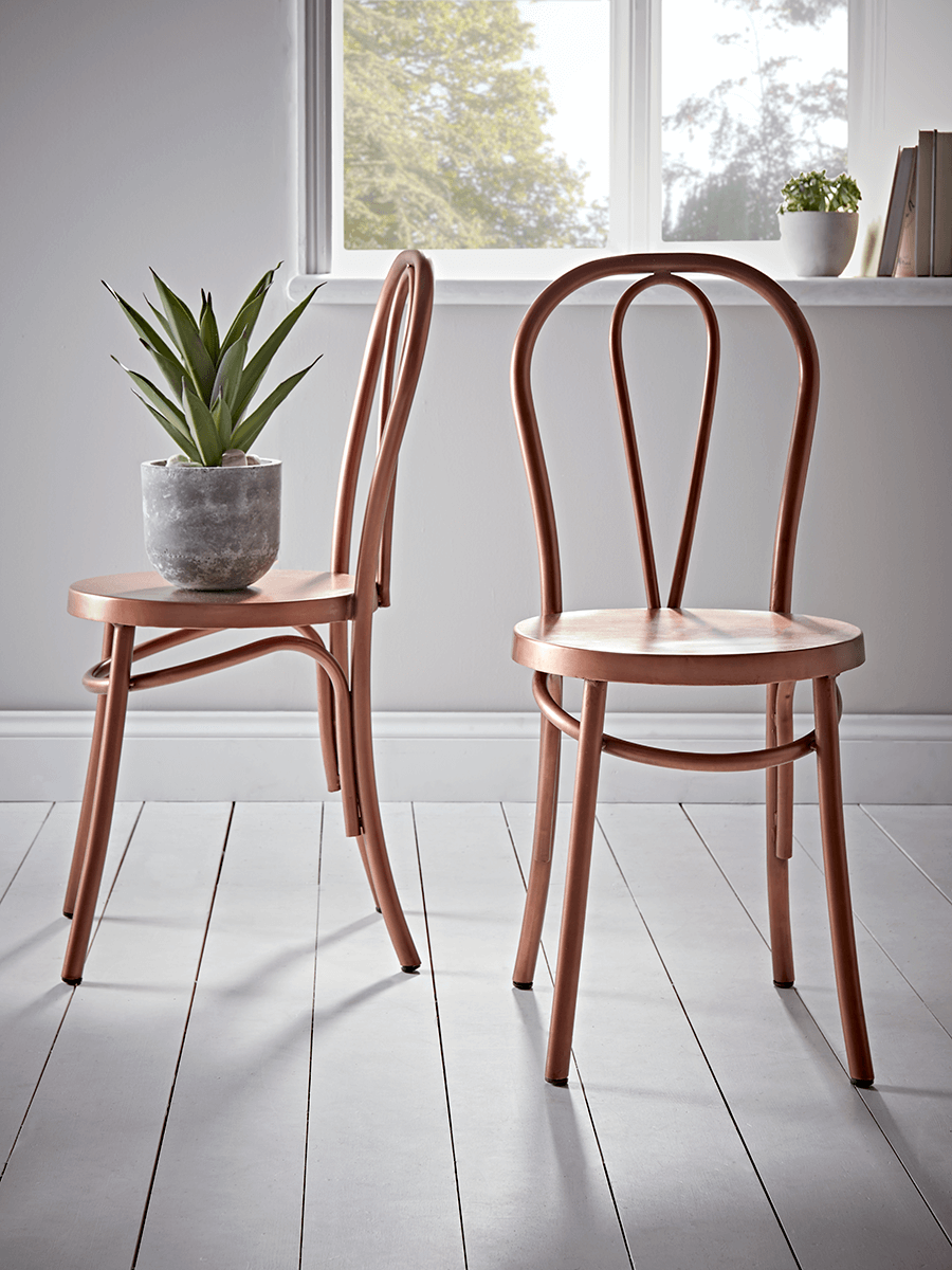 Copper Café Chair Dining chairs uk, Rattan dining chairs