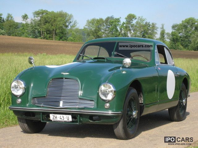 Superb Martin DB2 Original Left Hand Drive 1953 Vintage Classic And Old Cars
