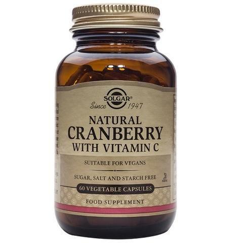 Arandano Rojo Con Vitamina C 60 Capsulas Vegetales Herbolario