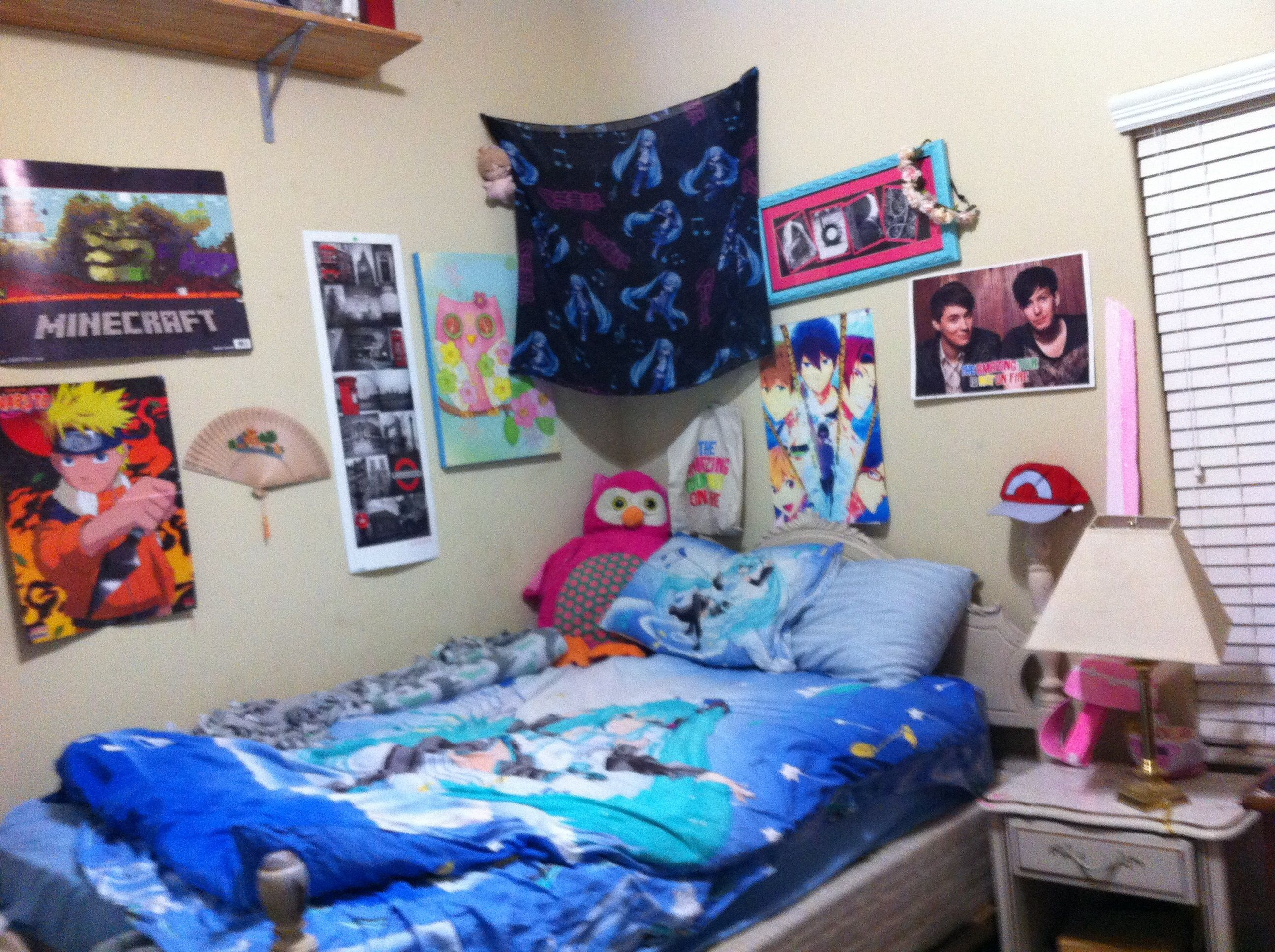 Me weeb room in 2020 Gaming room setup, Room setup, Room