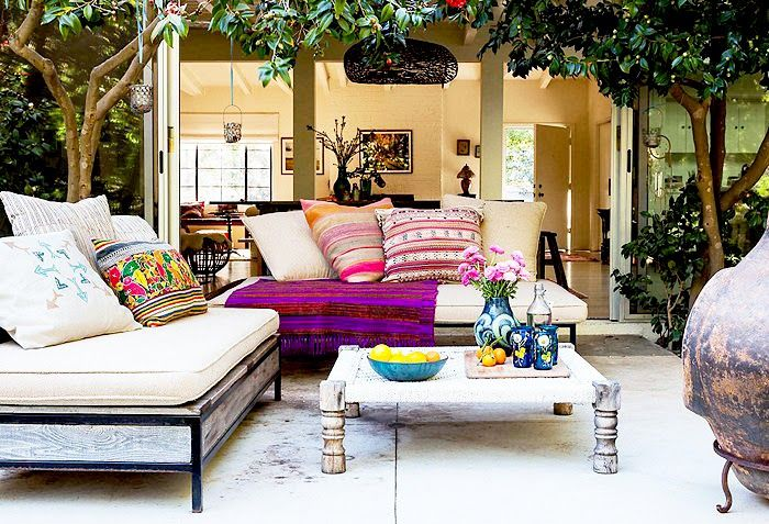 A bohemian retreat in  Pacific Palisades