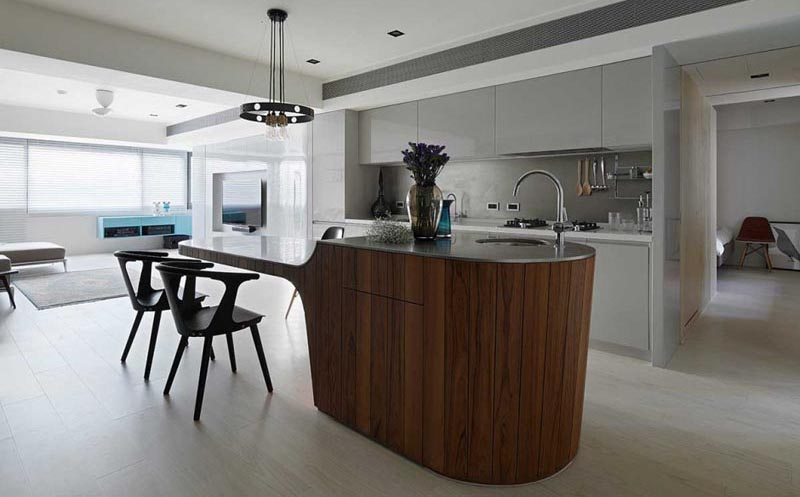 Kitchen Island Idea – A Multi-Height Island With ...