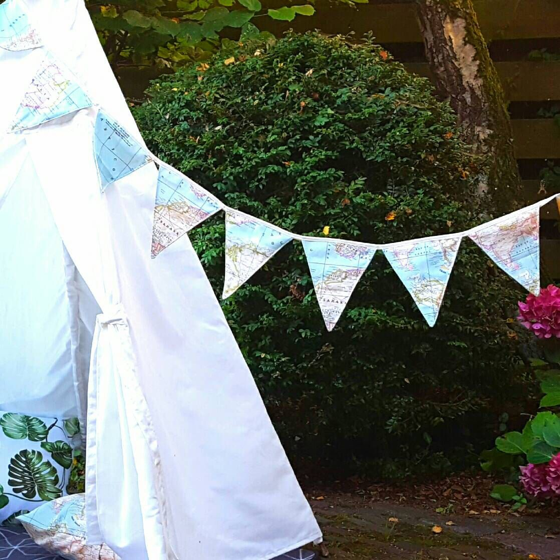 Handmade fabric bunting world map banner 8 flags flag line flag handmade fabric bunting world map banner 8 flags flag line flag garland gumiabroncs Gallery