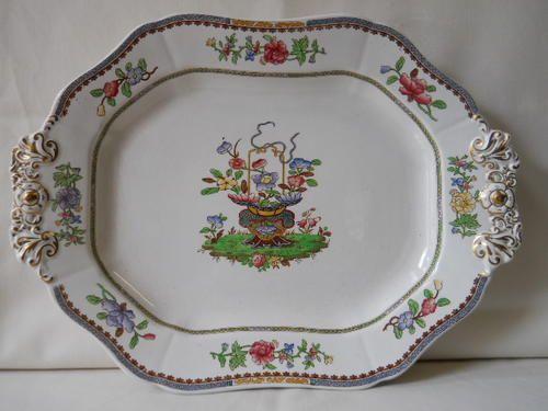 English Porcelain - Spodes ''Old Bow'' Platter for sale in Port Elizabeth (ID:217899399)