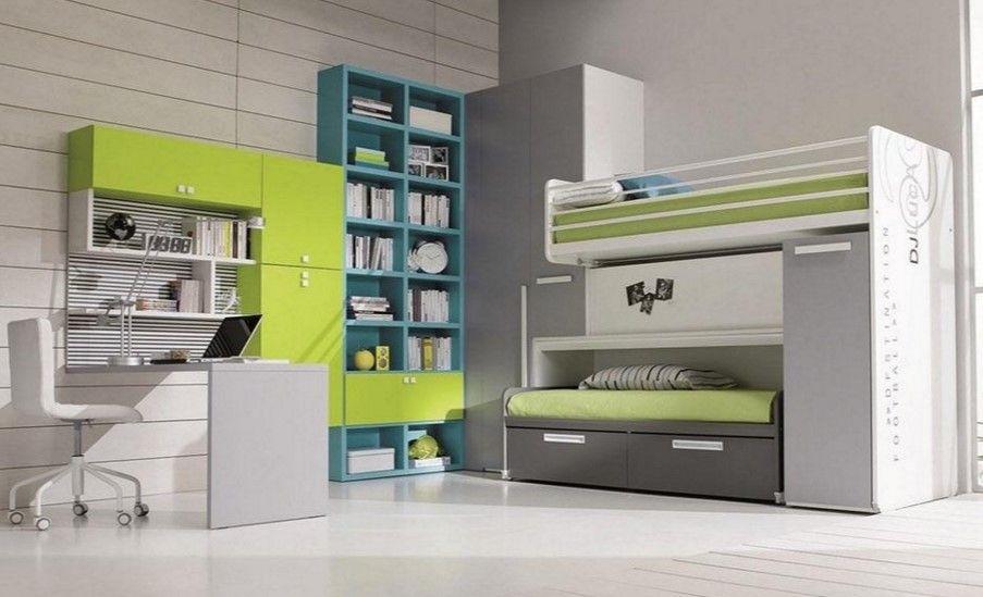 Modernes Jugendzimmer gestalten einrichten,Teenager-Zimmer ...