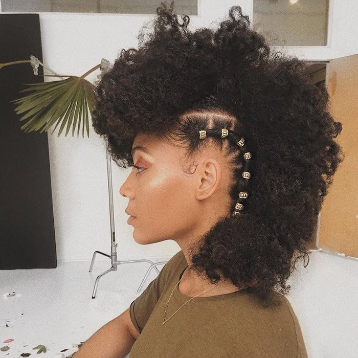 20 Curly Hairstyles For Prom In 2020 Short Natural Hair Styles Natural Hair Styles Hair Styles
