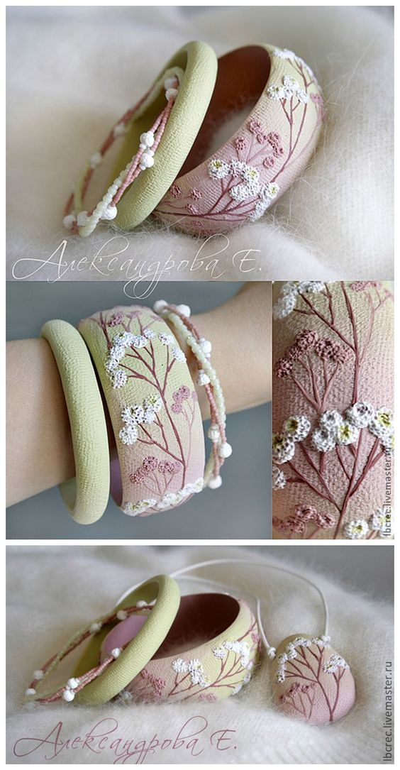 mira que lindas estas pulseras! si tienes un poco de idea aca tienes mas modelos