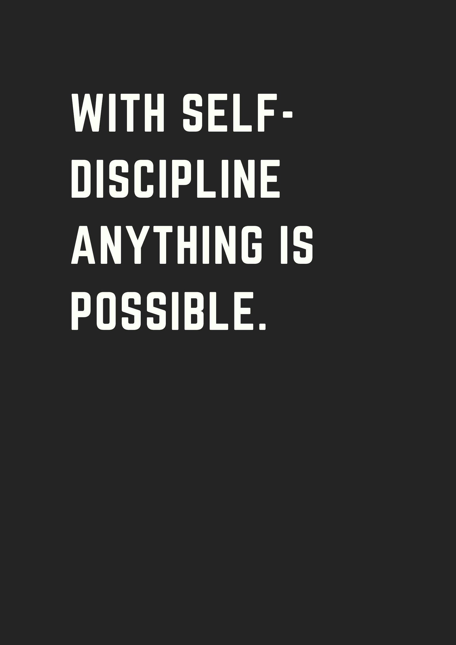 Quote About Discipline : quote, about, discipline, Motivational, Quotes, Success
