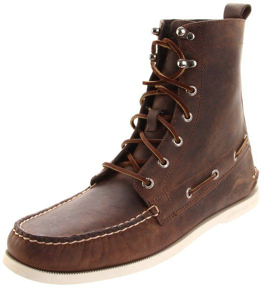 d38b3e4a334 Sperry Top-Sider Men's A/O 7 Eye Boot,Brown,7 M US | Stuff to Buy ...