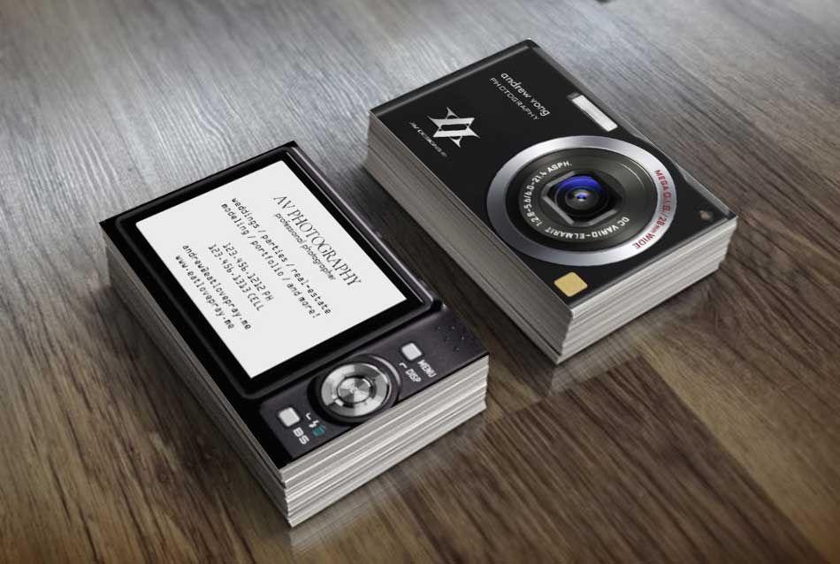 визитки фотографов фото будущем