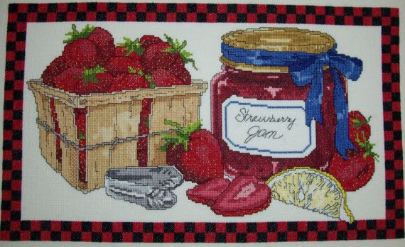 Strawberry Jam by ladybugdesigns1995 on Etsy, $30.00