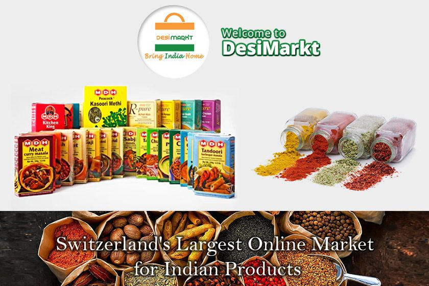Buy Online Indian Grocery of best quality in Zurich. You