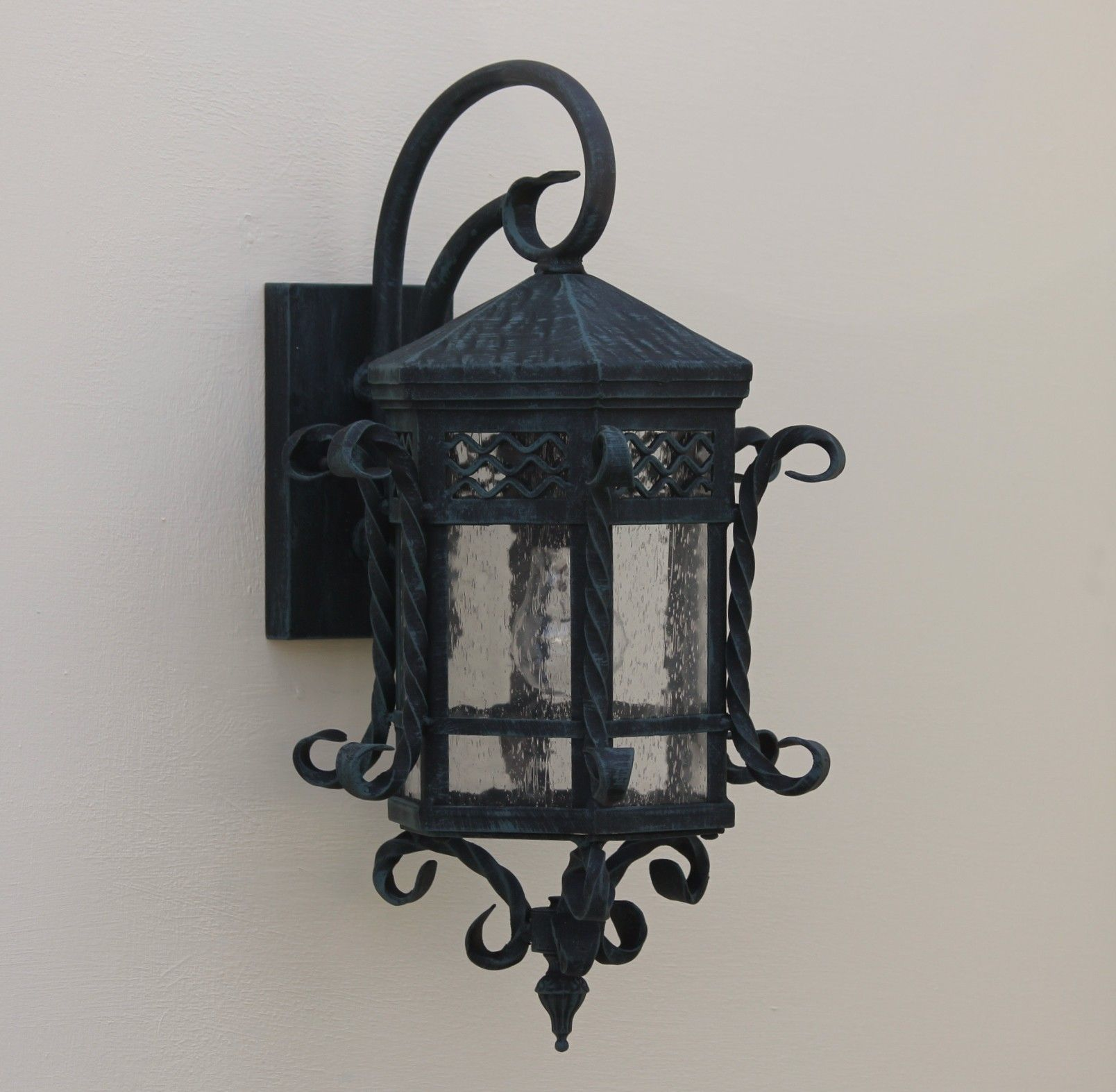 spanish outdoor hand forged wrought iron outdoor lighting spanish outdoor hand forged wrought iron outdoor lighting