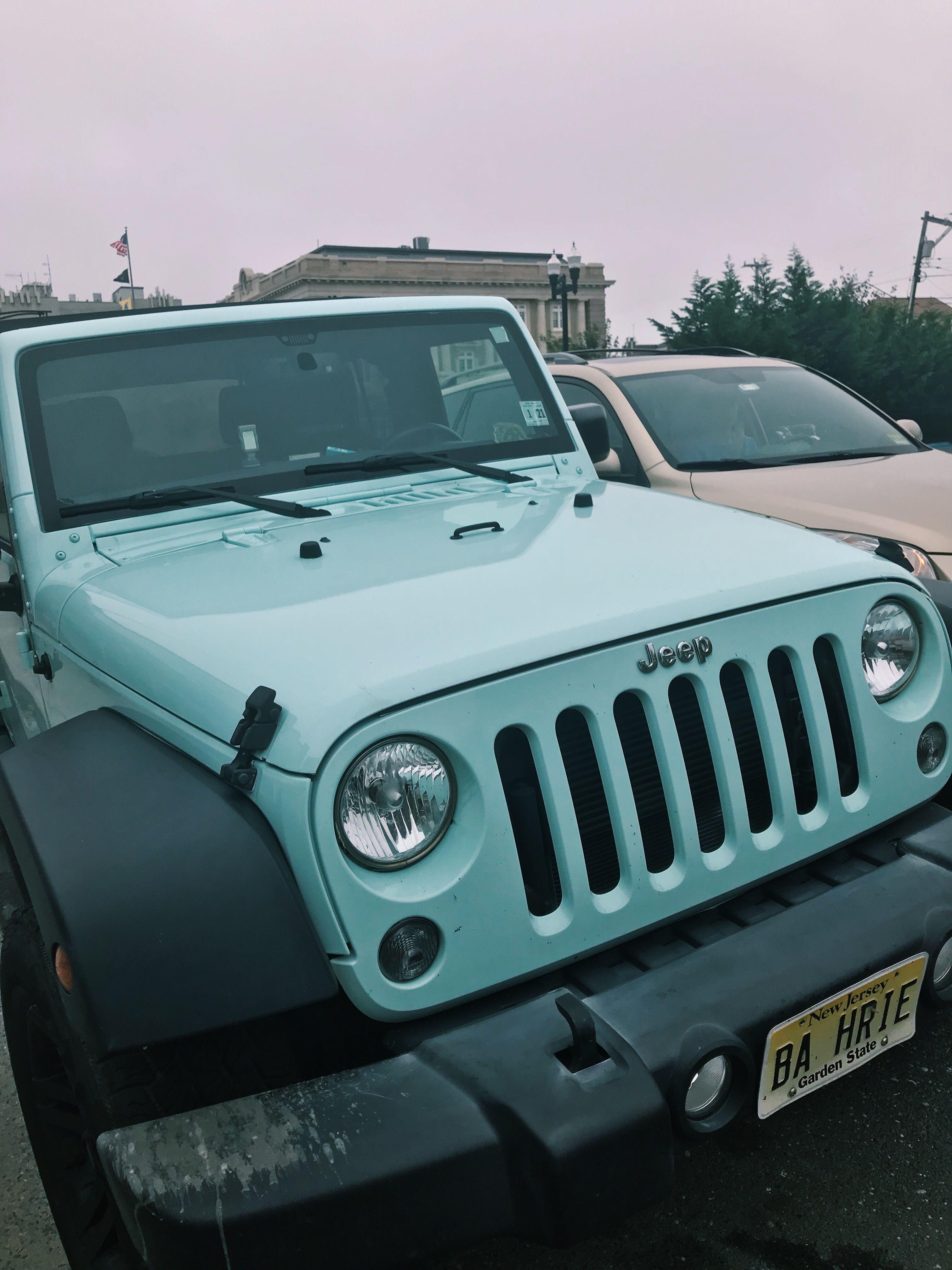 Mint Green Jeep Green Jeep Jeep Dream Cars