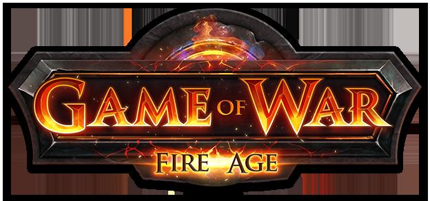 Game of War Fire Age logo Games, Cheap games, War