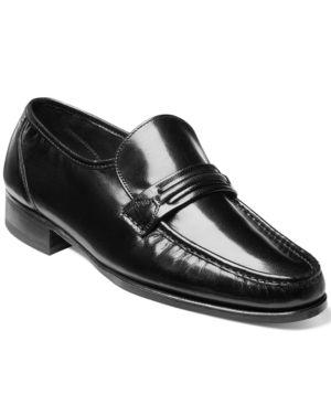 5c0e48005d21 Florsheim Men s Como Moc Toe Penny Loafer - Black 10.5WW