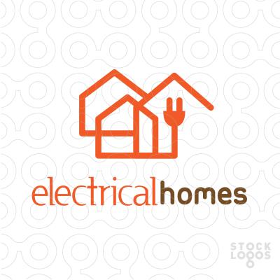 #Electrical #Homes | My Logo Designs | Logos design ...