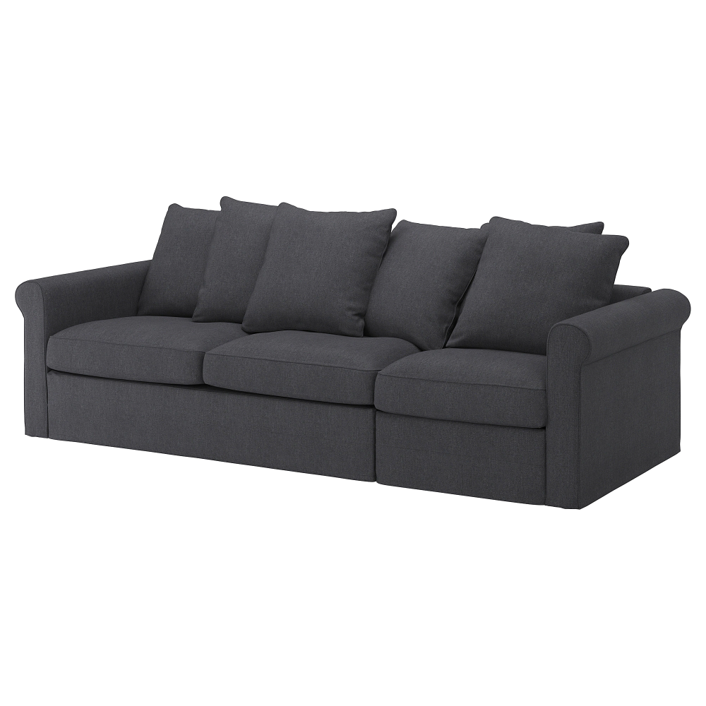 Gronlid Canape 3 Places Convertible Sporda Gris Fonce Canape 3 Places Ikea Et Canape Profond